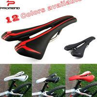 Promend Cycling Bicycle Saddle Road Bike MTB Bike PU Leather Hollow Saddle Seat