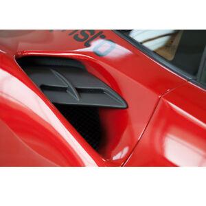 Capristo Ferrari 488 GTB Side Panel Carbon Fiber Air Intake