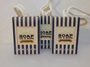 Mens Soap on a rope - Locker room favorite - manly sandalwood