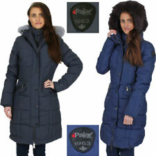 Pajar Women's Annie Duck Down Long Winter Cold Weather Parka Coat