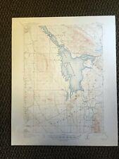 Vintage USGS Henry Idaho 1916Topographic Map 1948