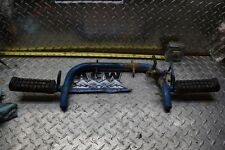 Z1-12 FOOT REST WITH MOUNT BRACKET 87 SUZUKI LT80 LT 80 2X4  1987 QUAD FREE SH
