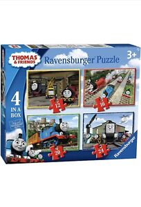 Ravensburger Childrens Jigsaw Puzzles Thomas The Tank Engine &Friends 4 In A Box