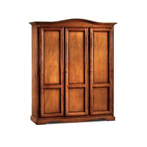 Closet Classic, 3 Door, Hat Gendarme, Walnut Or White