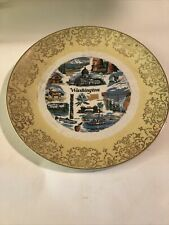Vintage Wishington China Collectors Plate