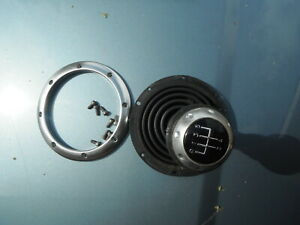 AUDI TT MK1 5 SPEED MANUAL GEAR KNOB+GAITER ALLOY SILVER 1.8T V6 150BHP 180BHP