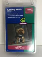 """Top Paw PET DOG SAFETY CAR HARNESS Size X-SMALL Girth 12""""-18"""" Padded Chest Strap"""