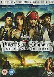 Pirates Of The Caribbeans On Stranger Tides (2 Dvd)