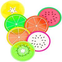 20Pcs Cup Mug Mat Pad Heat Shield Coasters Heat-insulation Fruit Pattern Coaster