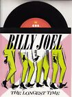 "BILLY JOEL The Longest Time PICTURE SLEEVE 7"" 45 record + juke box title strip"