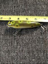Vintage Unknown Fishing Lure S.c Super Zara v frog