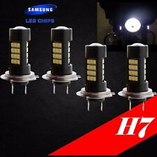 Combo 2 Pair H7 Samsung LED Chip 42 SMD White 6000K Light Bulb For YAMAHA Bike