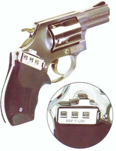 ONLY YOU CAN FIRE YOUR GUN. SAF T LOK GUN LOCK.  SAFTLOK
