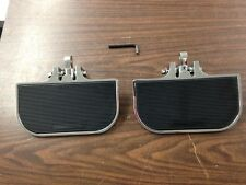 CHROME MINI FLOORBOARD SET FOR  HARLEY DAVIDSON
