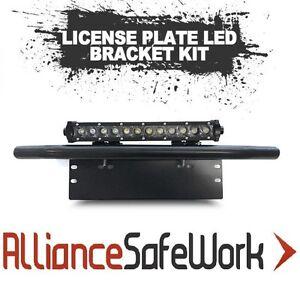 Universal - 72W LED Hi-Mount Lightbar - License Plate Mount Kit (Complete)