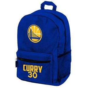 Stephen Steph Curry #30 Warriors Jersey Backpack gym Book Bag - Sports Bag Blue