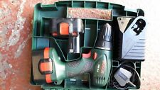 Bosch cordless drill driver 14.4 in case with 2 batteries &charger