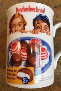 "Vintage Robert Opie Mug Advertising ""Munchmallows for tea!"""