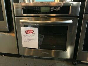 "KitchenAid 30"" Steam-Assist Single Wall Oven  ***OPEN BOX***"