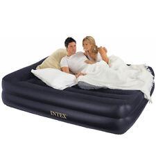 NEW Intex 67701E Pillow Rest Air Bed Mattress w/Built In Air Pump & Pillow,