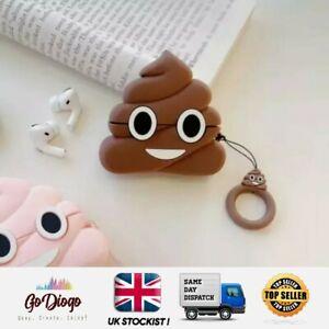 Novelty Poo Case For Apple Airpod 1/2  UK STOCKIST SELLER FREE P+P