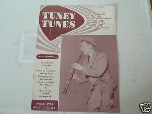 1954 NO 122 TUNEY TUNES MUSIC TOBI RIX COVER,WELK,BILLY MAY,KAY STARR,GAYLORDS