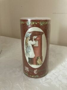 Christmas Xmas Victor Advent Calendar Candle 24 Measures on side 15 cm High New