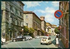 Grosseto Arcidosso Auto Foto FG cartolina KF1975