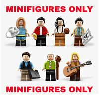 LEGO Central Perk FRIENDS TV Show Minifigures ONLY!! Genuine Split From 21319