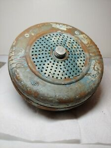 Motiograph Drive-in Movie Theater Speaker Steel Round Vintage Late Forties