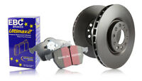 EBC Rear Brake Discs & Ultimax Pads for Toyota Auris 1.6 TD  (2015 on)