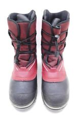 BAFFIN Technology Red Black Arctic Boots 6W Fly Lace SIZE Y'S#6  Kids Youth