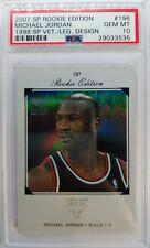2007-2008 SP Rookie Edition 98-99 Michael Jordan #196, Rare Graded PSA 10, Pop 4