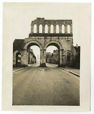 Historic France - Vintage 8x10 Publication Photograph - Porte d'Arroux