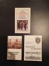 Ostpreußen Konvolut Bücher, Landkarte, originales Poesie Album von 1937