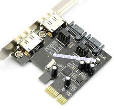 PCI-E express To 2 Ports Internal SATAIII SATA3 SATA3.0+2 ports External ESATA