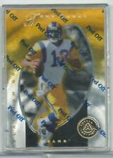 1997 Pinnacle Totally Certified Platinum Gold Football Card  #14 Tony Banks