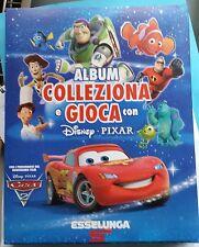 ALBUM figurine COLLEZIONA E GIOCA CON DISNEY PIXAR Esselunga Completo +poster