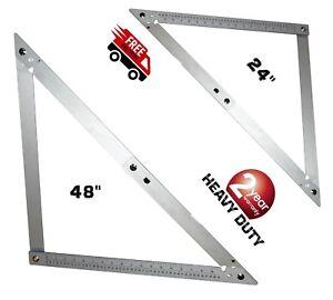 New Folding Roofing Frame Square metric Imperial Building Aluminium 60&120cm