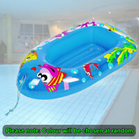 Sea Life Children's Inflatable Boat Water Floating Inflatable Pool Beach Lounger