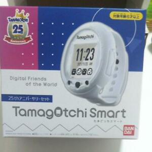 Bandai Tamagotchi Smart 25th Anniversary Set white Game Limitd