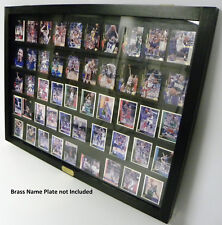 Baseball Card display case Req. Blk walmount P306B