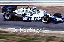 Didier Pironi Tyrell 008 British Grand Prix 1978 fotografia 2