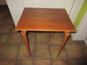 Teak Side Table by A-B.S Ljungqvist Furniture Factory Sweden 1960s Mid-Century