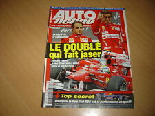 Auto hebdo N°1763 Gp d'Allemagne.Michaël Schumacher.Audi RS5.Dani Sordo