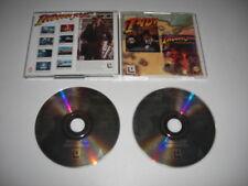 Indiana Jones et et la dernière croisade + The Fate of Atlantis PC CD ROM CD