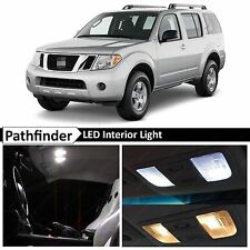 12x White Interior LED Lights Package Kit for 2005-2012 Pathfinder