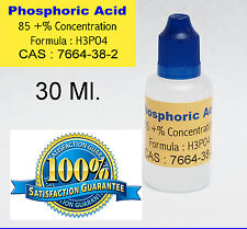 30 ml.  /  1 Oz. Phosphoric Acid 85  %  SOLDERING FLUX