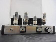 Amplificadoor Hifi Clase A Totalmente A Valvulas Cableado Y Testado A Mano
