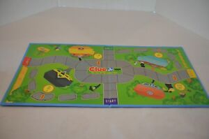 Clue Jr. Replacement Pieces The Case of the Hidden Toys Game Board Only